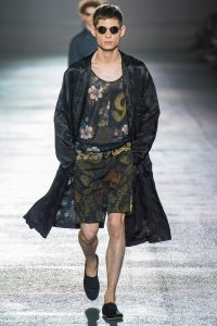 défilé fashion week dries van noten homme 2018